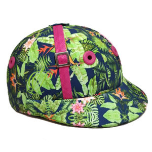 Polo helment Pinkflower