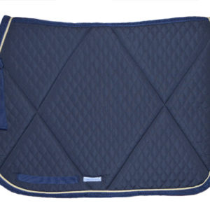 Matelasse saddle pad